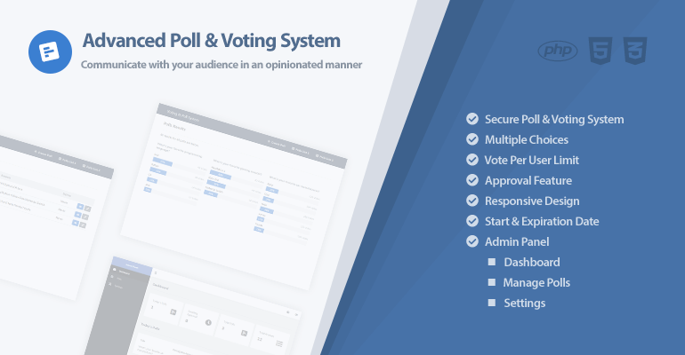 Advanced Poll and Voting System