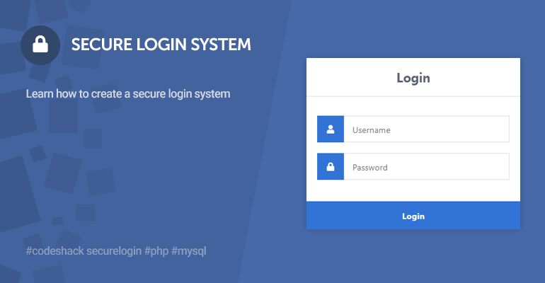 Secure Login System with PHP and MySQL
